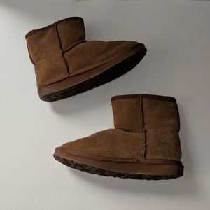 Emu Australia Suede and Wool Boot Size 3